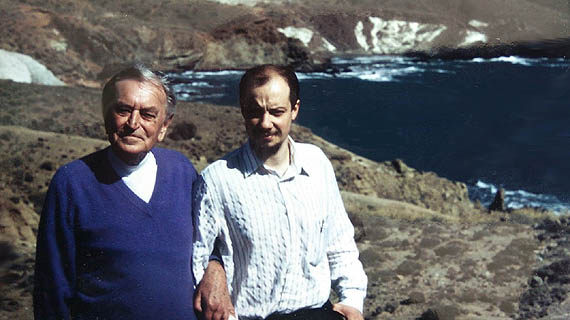 David Lean y Jon Apaolaza.