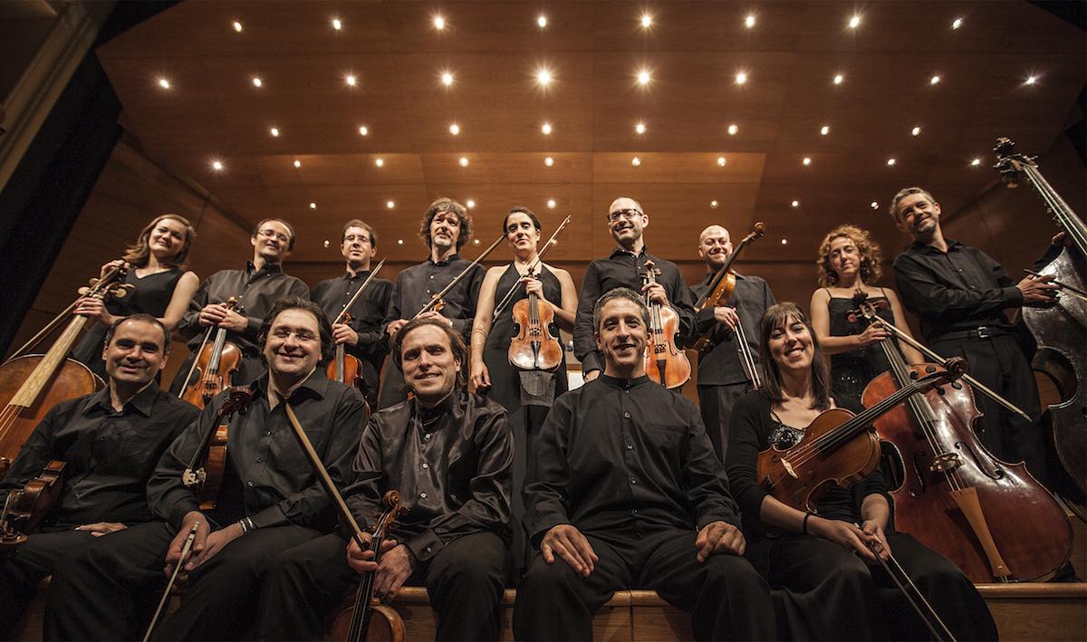 Imagen de la Orquesta Barroca de Sevilla.