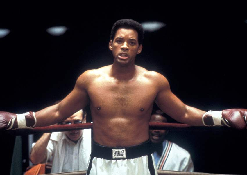 Will Smith interpreta a Muhammad Ali.