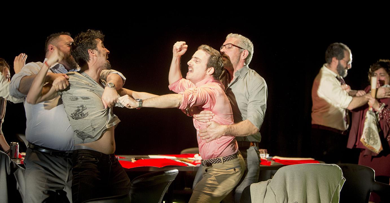Escena de 'El Jurado', de Avanti Teatro © Luis Castilla