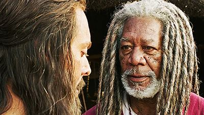 Morgan Freeman interpreta a un jeque nubio en el remake de Ben-Hur de 2016