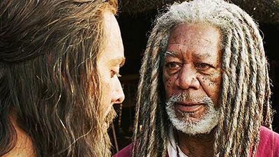 Morgan Freeman interpreta a un jeque nubio en el remake de Ben-Hur de 2016