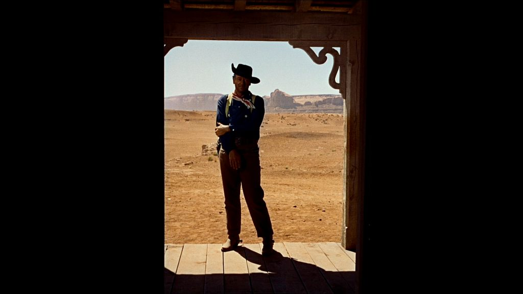 Otra vez John Ford y John Wayne