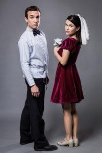Emiliano Dionisi y Julia Gárriz protagonizan 'Romeo y Julieta de bolsillo'.