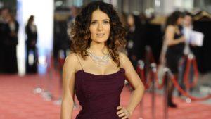La actriz Salma Hayek.