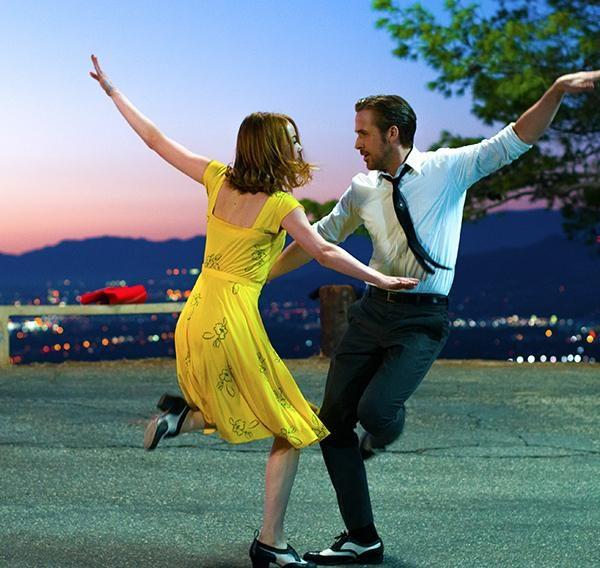 Película La La Land, la ciudad de las estrellas, con Ryan Gosling y Emma Stone