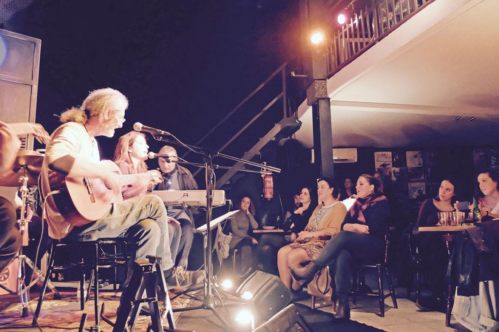 Concierto de Alfonso del Valle, XX aniversario del álbum «En la Carbonería». La Sala, Sevilla, noviembre 2017. Foto: perezventana