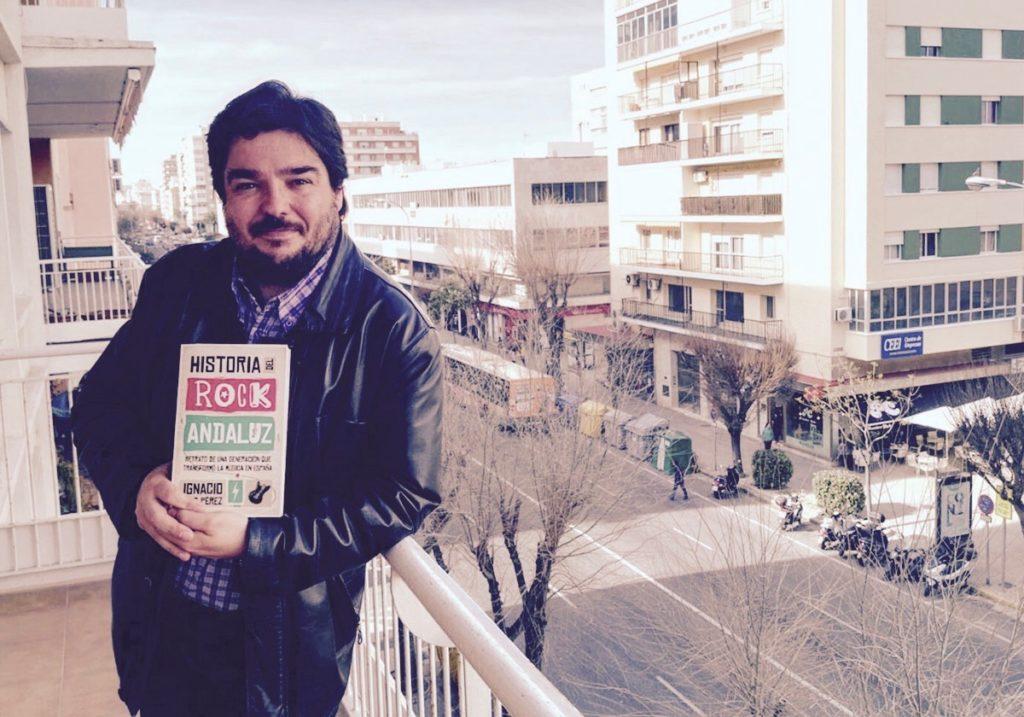 Ignacio Díaz Pérez, autor de «Historia del rock andaluz».